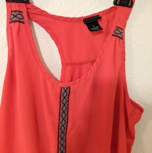 Rue 21 Red Tank Top Small